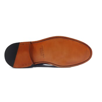 vue dessous boots cousu goodyear cuir cognac jules & jenn