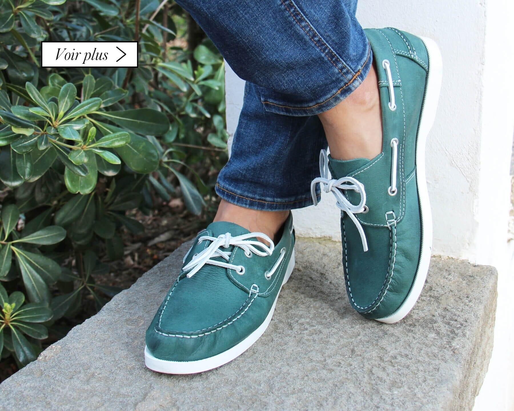 chaussures-bateau-homme-en-cuir-brosse-vert-d