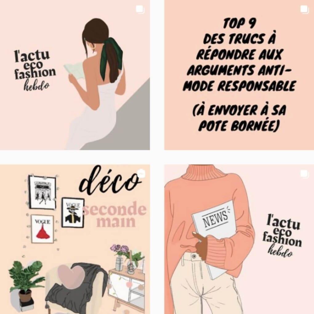 instagram Mathilde Lepage influenceuse engagée