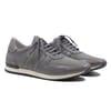 sneakers cuir daim gris jules & jenn