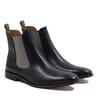 chelsea boots cuir noir gris jules & jenn