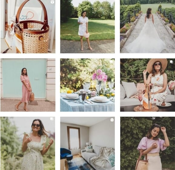 feed instagram ambassadrice blushavocado jules & jenn